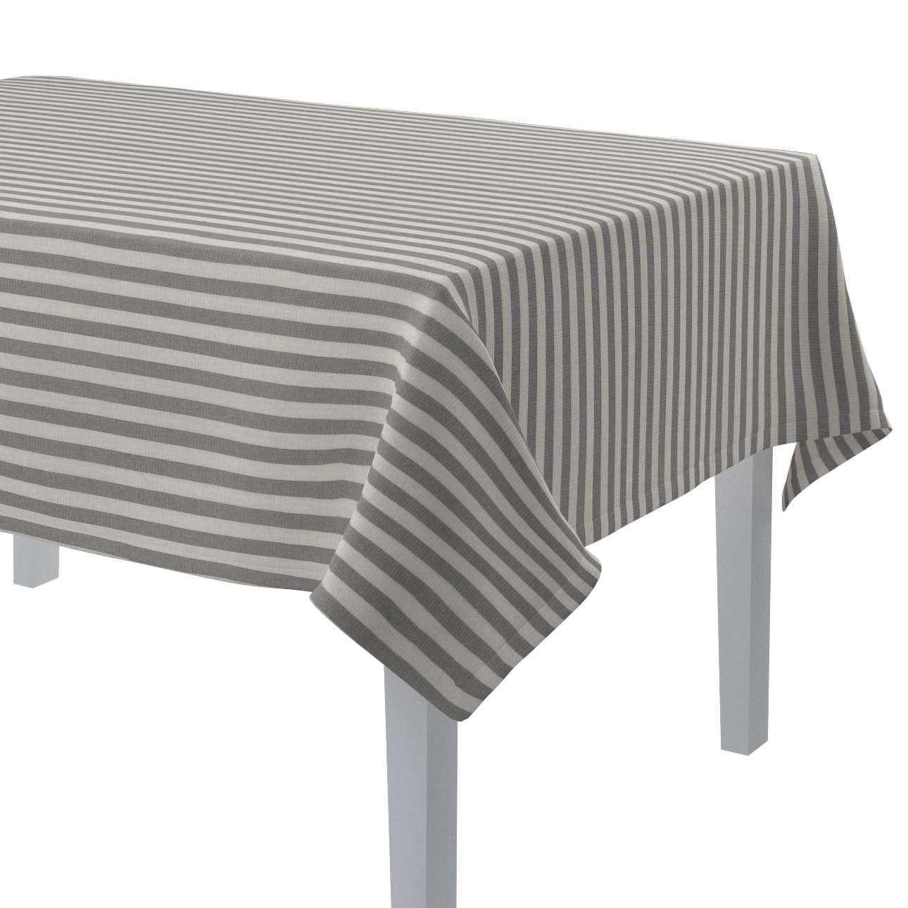 Rektangulær bordduk fra kolleksjonen Quadro, Stoffets bredde: 136-12