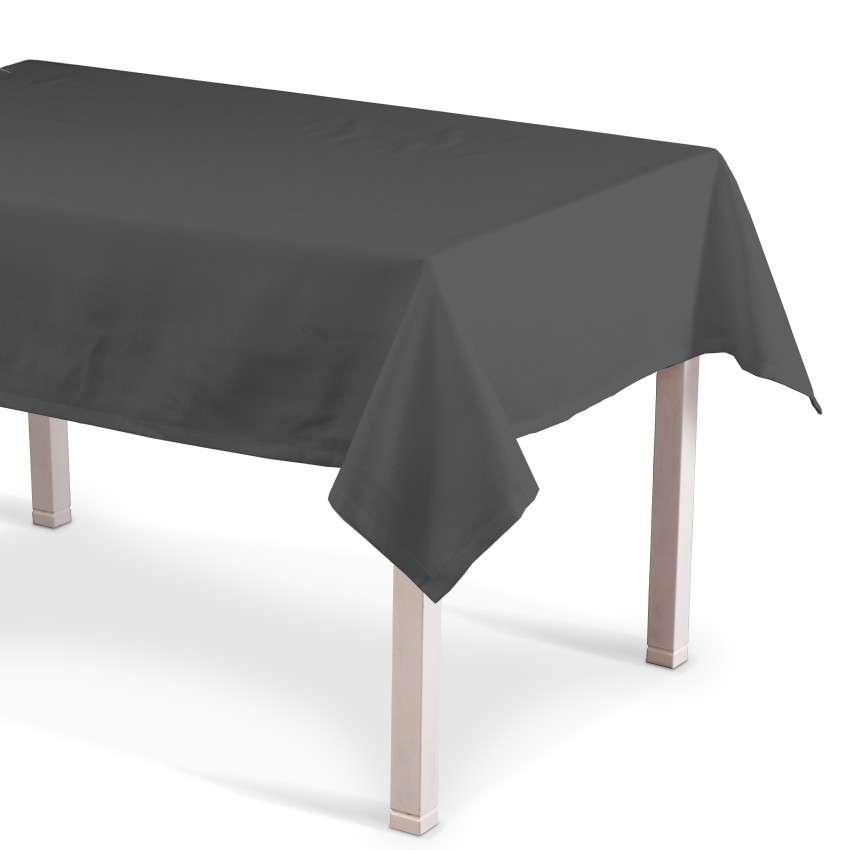 Rechthoekig tafelkleed van de collectie Quadro, Stof: 136-14