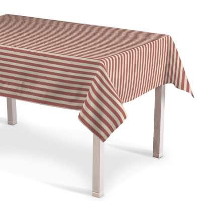 Rektangulær bordduk fra kolleksjonen Quadro, Stoffets bredde: 136-17