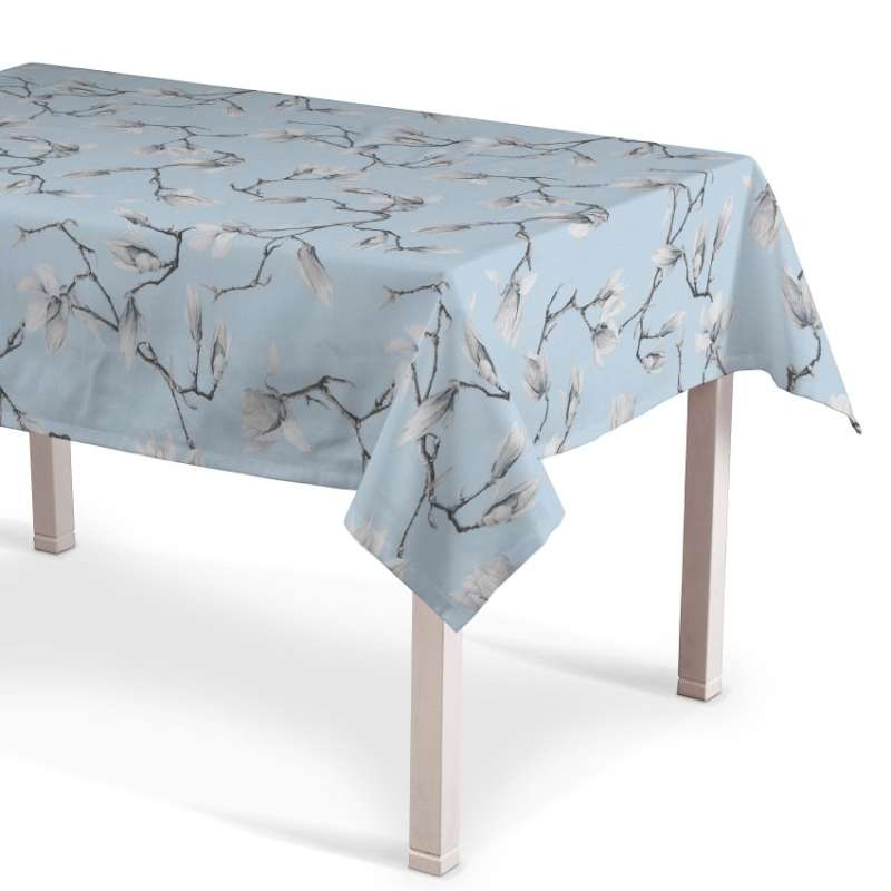 Rectangular tablecloth in collection Flowers, fabric: 311-14