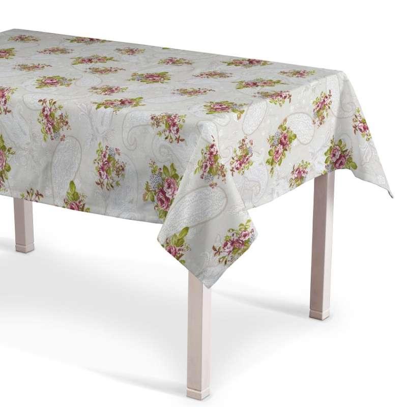 Staltiesės (stalui su kampais) kolekcijoje Flowers, audinys: 311-15