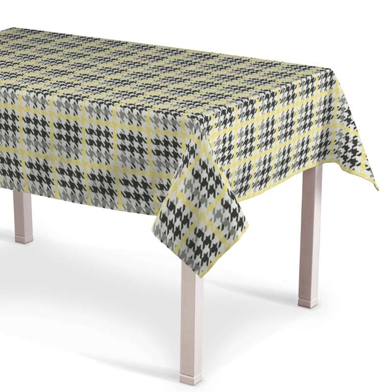 Rectangular tablecloth in collection Brooklyn, fabric: 137-79