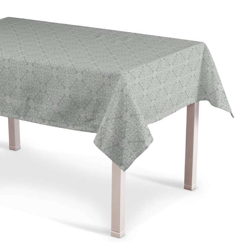 Rectangular tablecloth in collection Flowers, fabric: 140-38