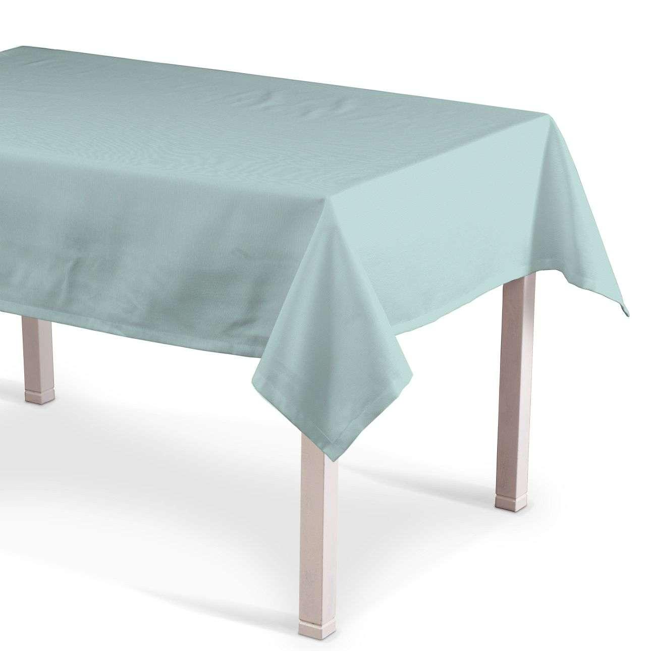 Rechthoekig tafelkleed van de collectie Cotton Panama, Stof: 702-10
