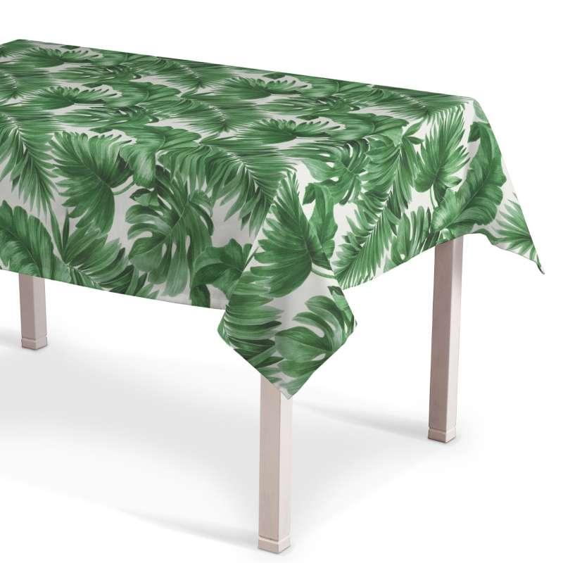 Rechteckige Tischdecke von der Kollektion Tropical Island, Stoff: 141-71