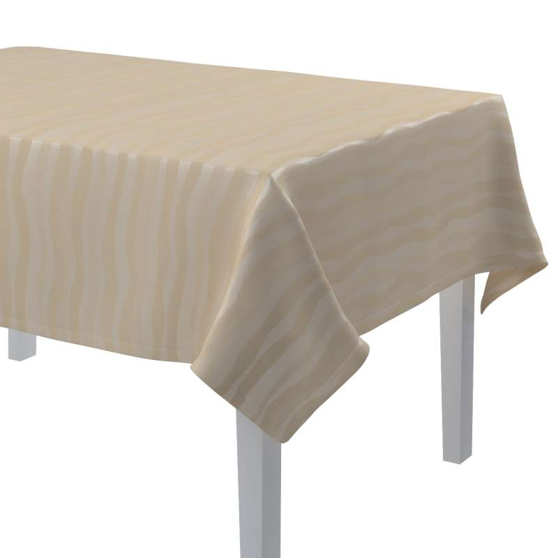 Rectangular tablecloth in collection Damasco, fabric: 141-76