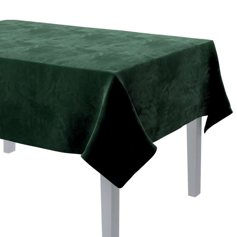 Rectangular tablecloth in collection Velvet, fabric: 704-13
