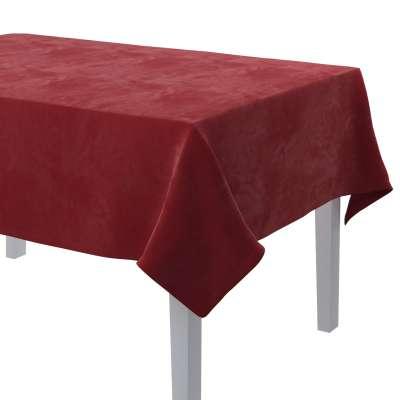 Rechthoekig tafelkleed van de collectie Velvet, Stof: 704-15