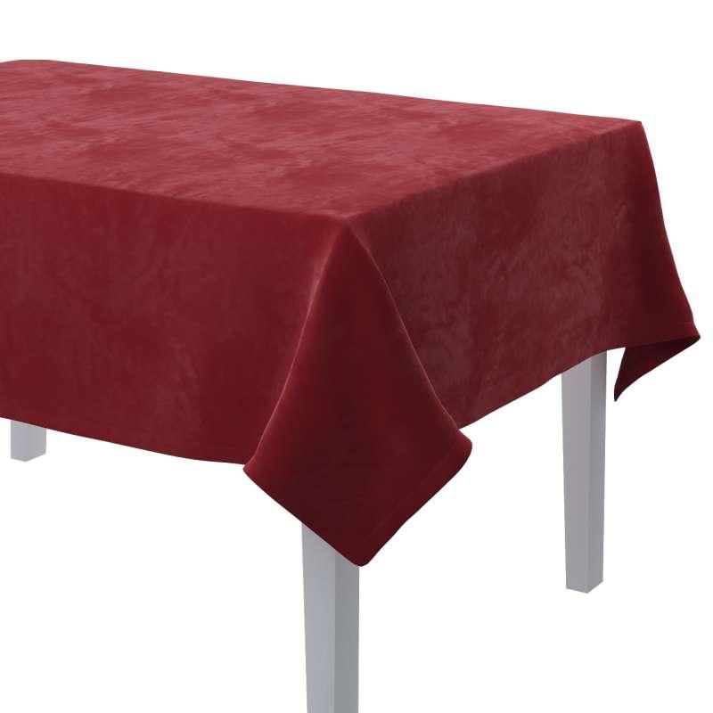 Obrus prostokątny w kolekcji Velvet, tkanina: 704-15