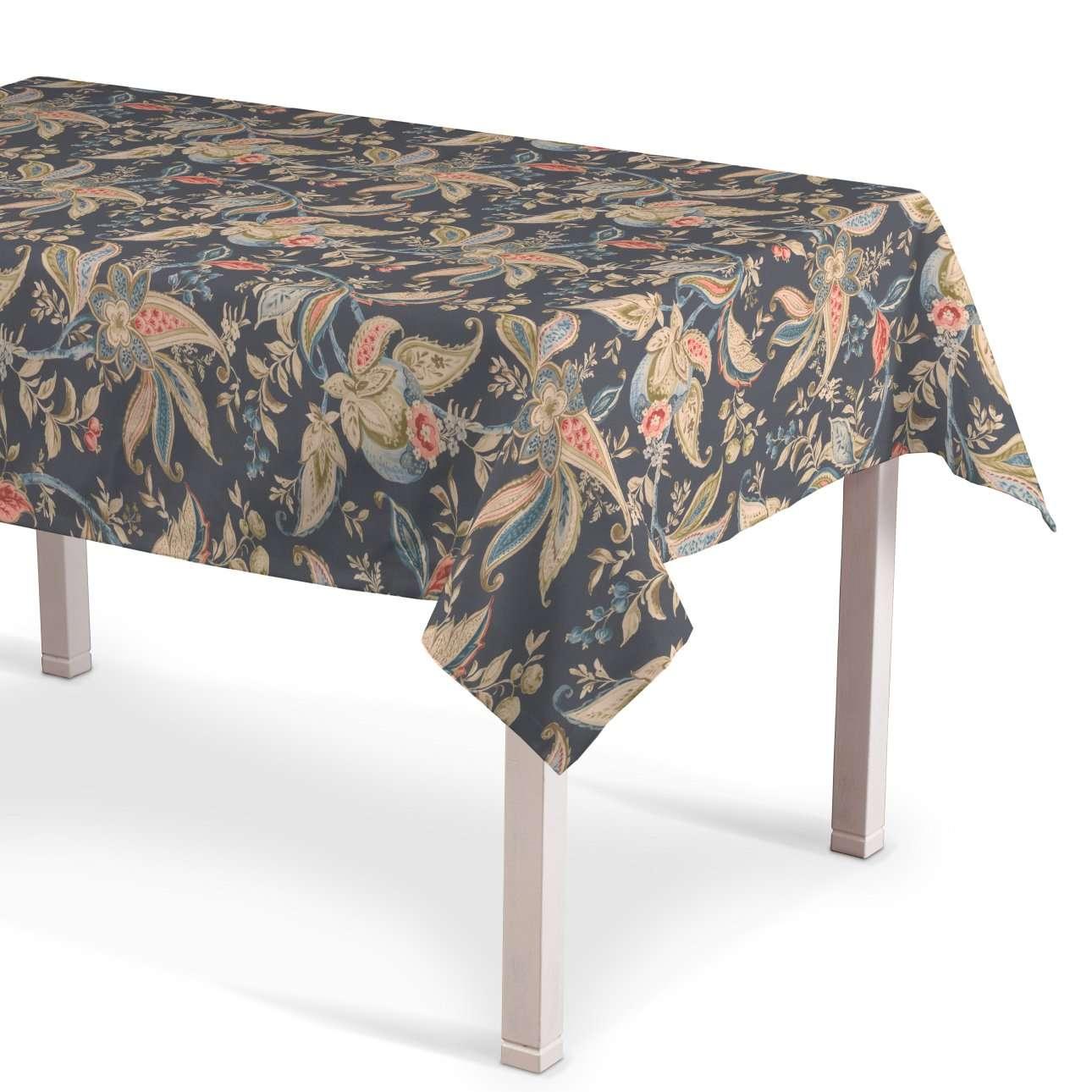 Rektangulær bordduk fra kolleksjonen Gardenia, Stoffets bredde: 142-19