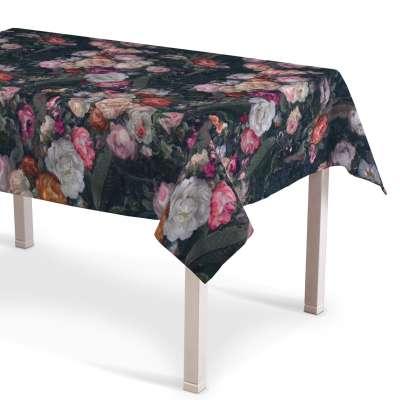 Rektangulær bordduk fra kolleksjonen Gardenia, Stoffets bredde: 161-02
