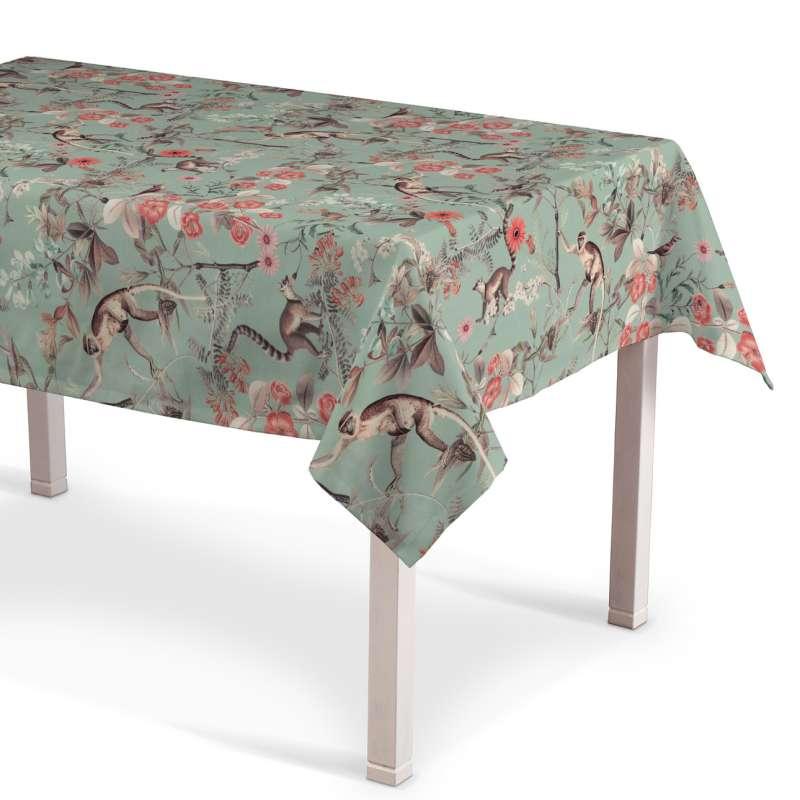 Obrus na stôl obdĺžnikový V kolekcii Tropical Island, tkanina: 142-62