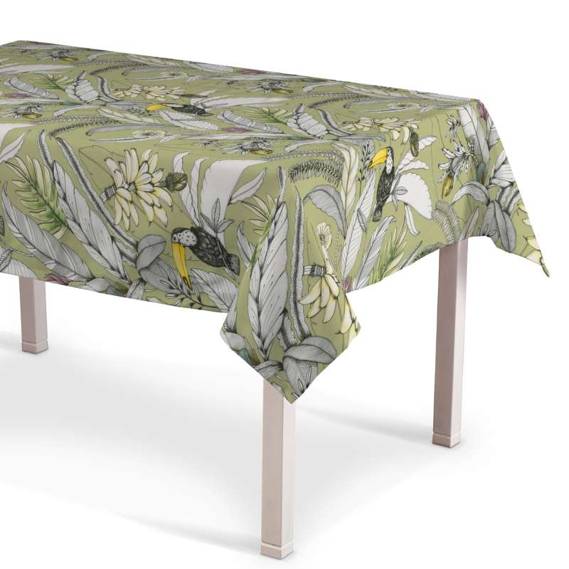 Rectangular tablecloth in collection Tropical Island, fabric: 142-65