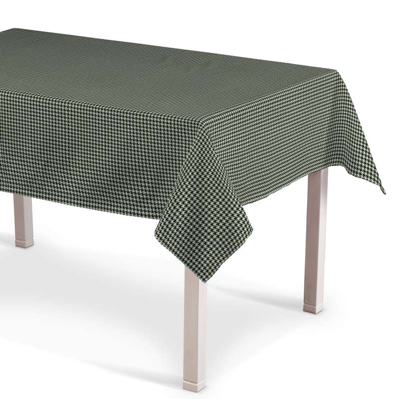 Rectangular tablecloth in collection Black & White, fabric: 142-77