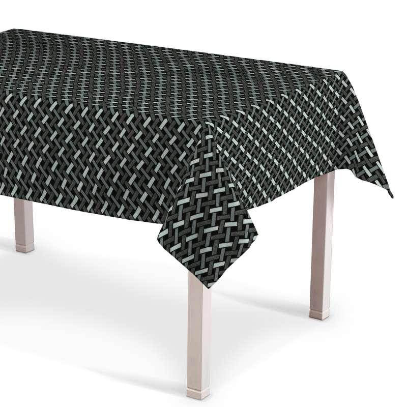 Asztalterítő téglalap alakú a kollekcióból Black & White szövet, Dekoranyag: 142-87