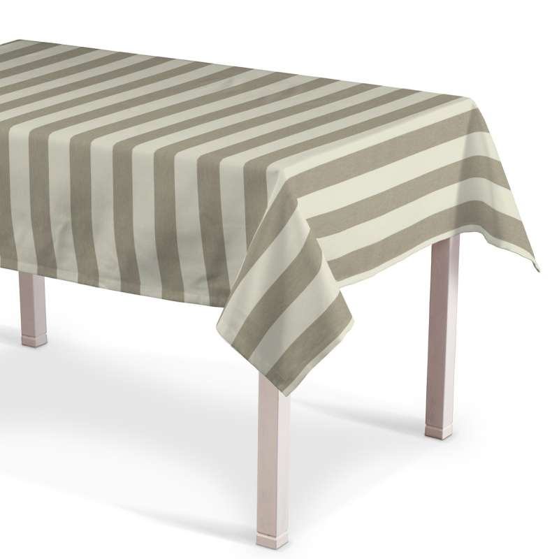 Rectangular tablecloth in collection Quadro, fabric: 142-73