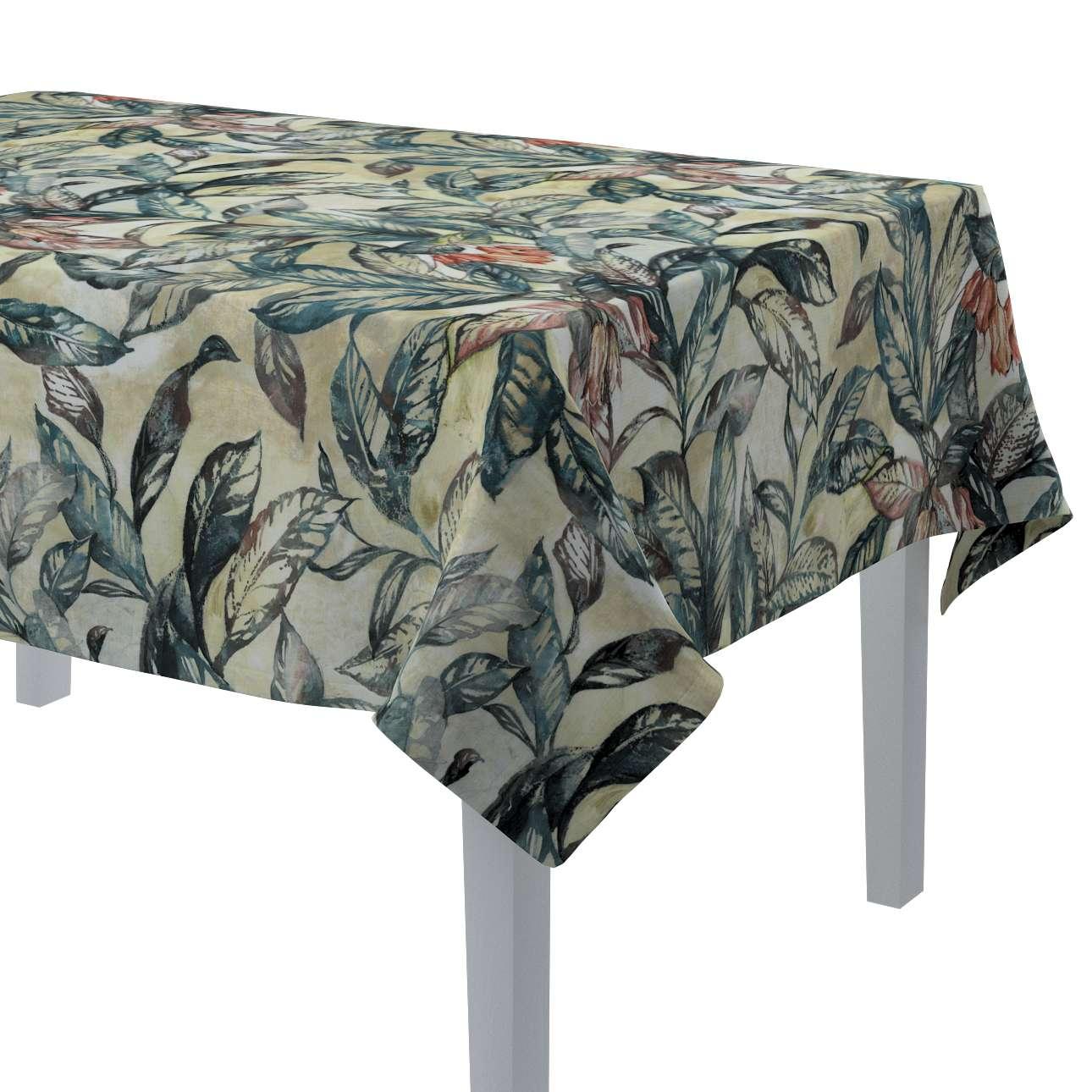 Rektangulær bordduk fra kolleksjonen Abigail, Stoffets bredde: 143-08