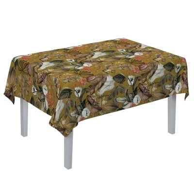 Rechthoekig tafelkleed van de collectie Abigail, Stof: 143-09