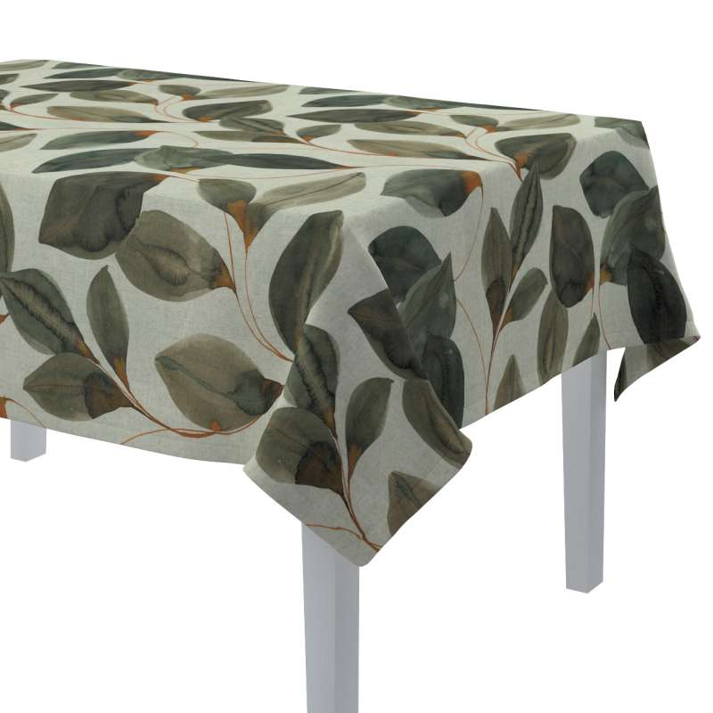 Rectangular tablecloth in collection Abigail, fabric: 143-17