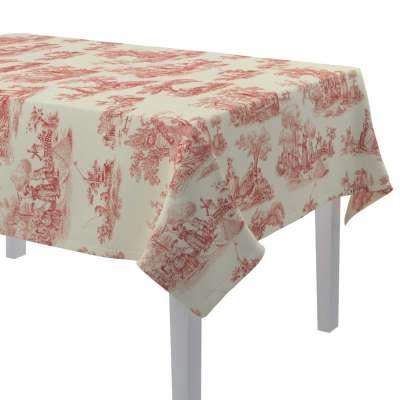 Rechthoekig tafelkleed van de collectie Avinon, Stof: 132-15