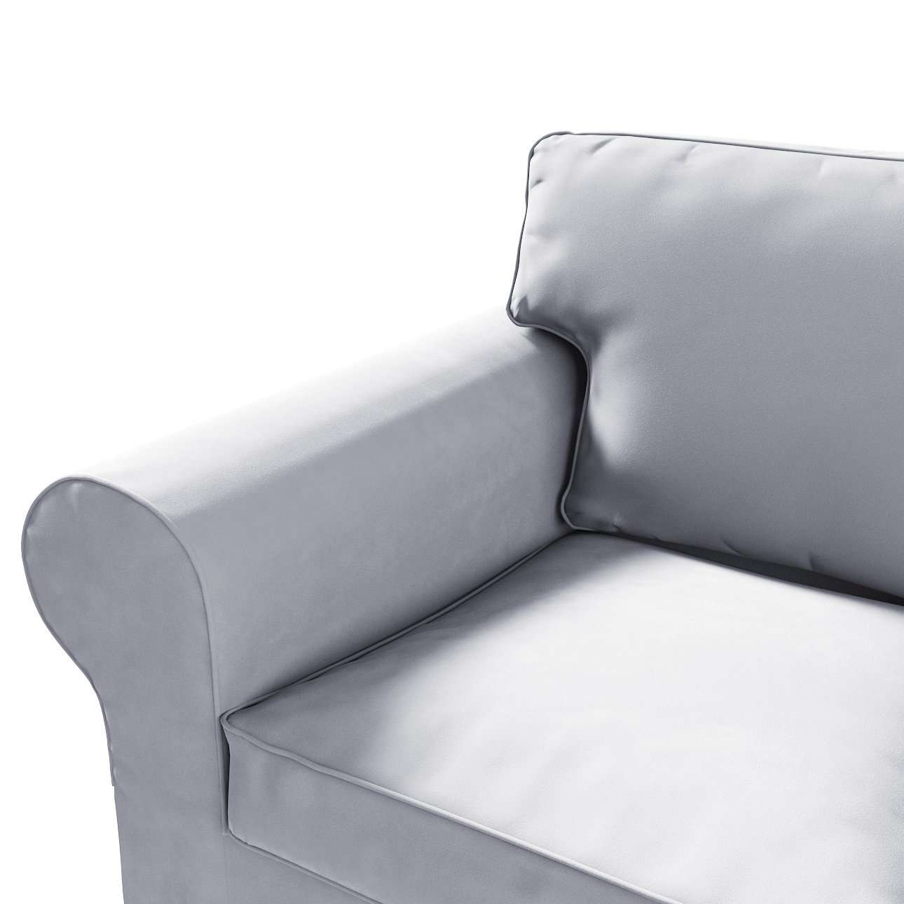 Ektorp 2-seater sofa cover in collection Velvet, fabric: 704-24