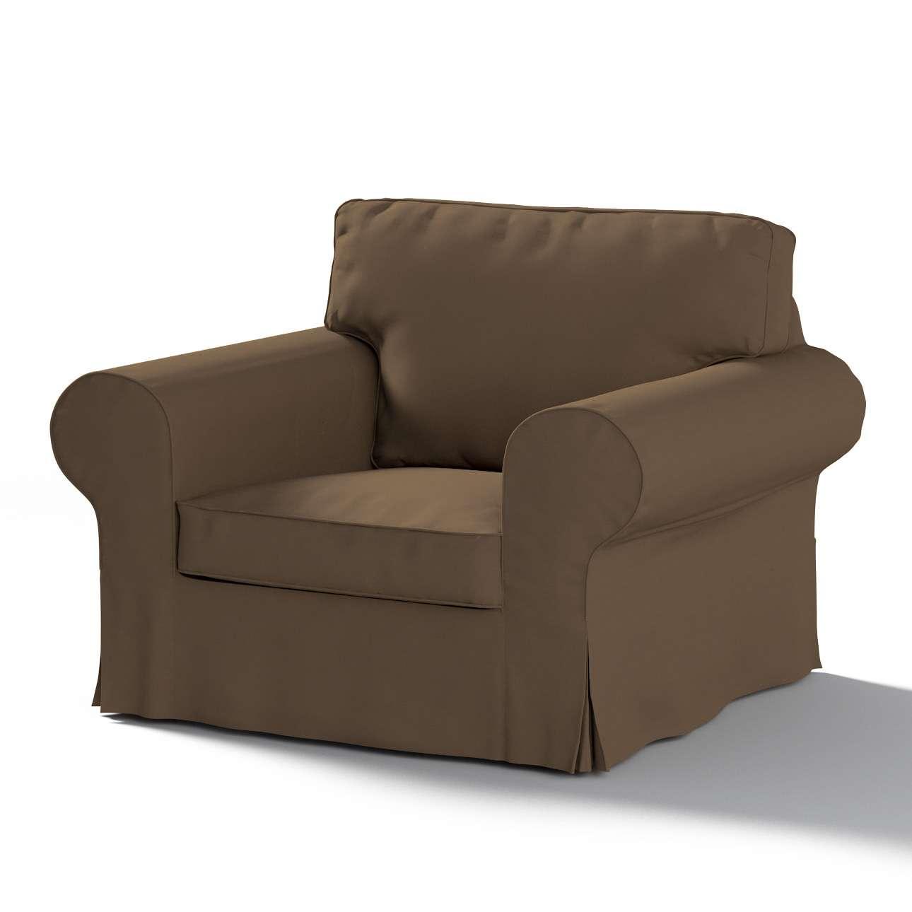 Pokrowiec na fotel Ektorp w kolekcji Cotton Panama, tkanina: 702-02