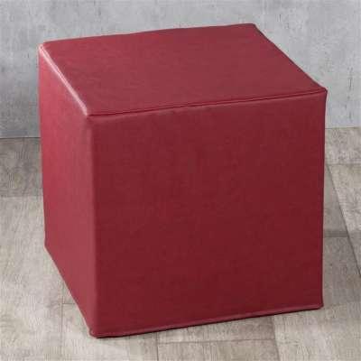 Trekk til sitttepuff fra kolleksjonen Kunstlær, Stoffets bredde: 104-49
