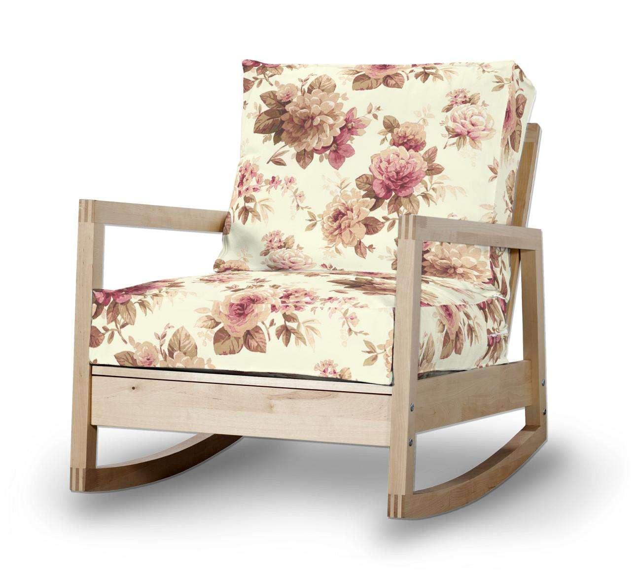 Pokrowiec na fotel Lillberg w kolekcji Londres, tkanina: 141-06