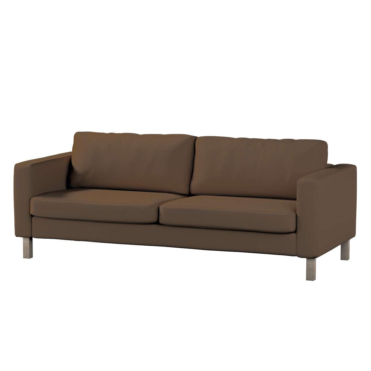 Hoes voor Karlstad 3-zitsbank van IKEA van de collectie Cotton Panama, Stof: 702-02