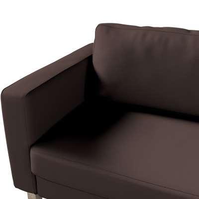 Pokrowiec na sofę Karlstad 3-osobową nierozkładaną, krótki w kolekcji Cotton Panama, tkanina: 702-03