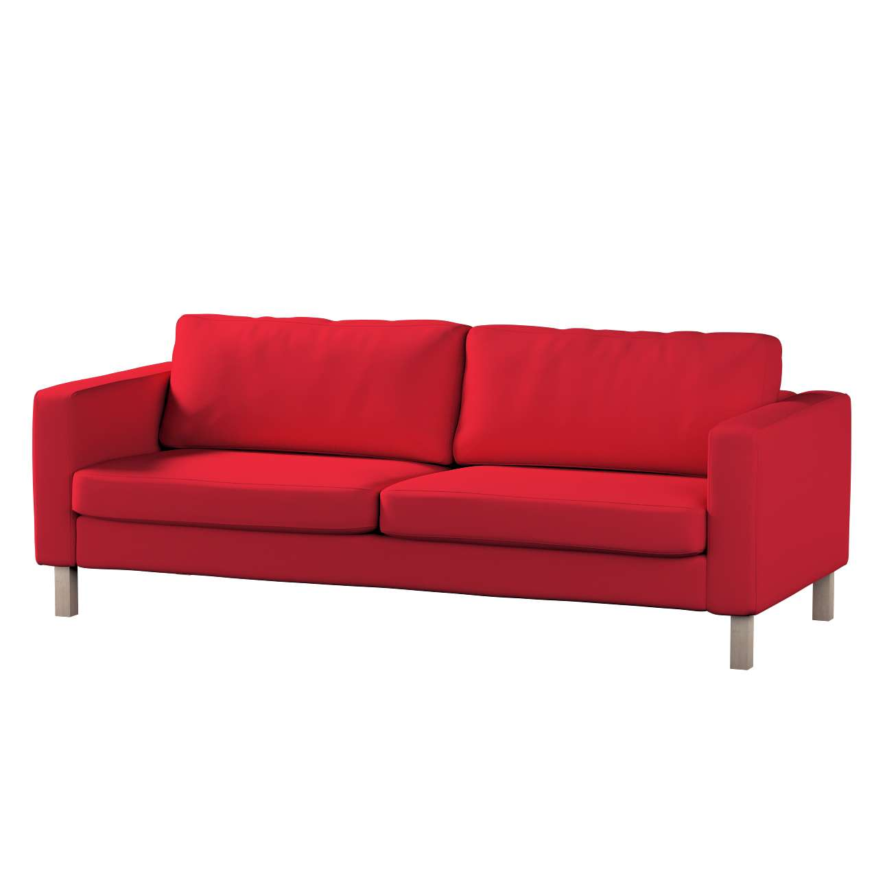 Karlstad klädsel<br>3-pers. soffa - kort - 204cm i kollektionen Panama Cotton, Tyg: 702-04
