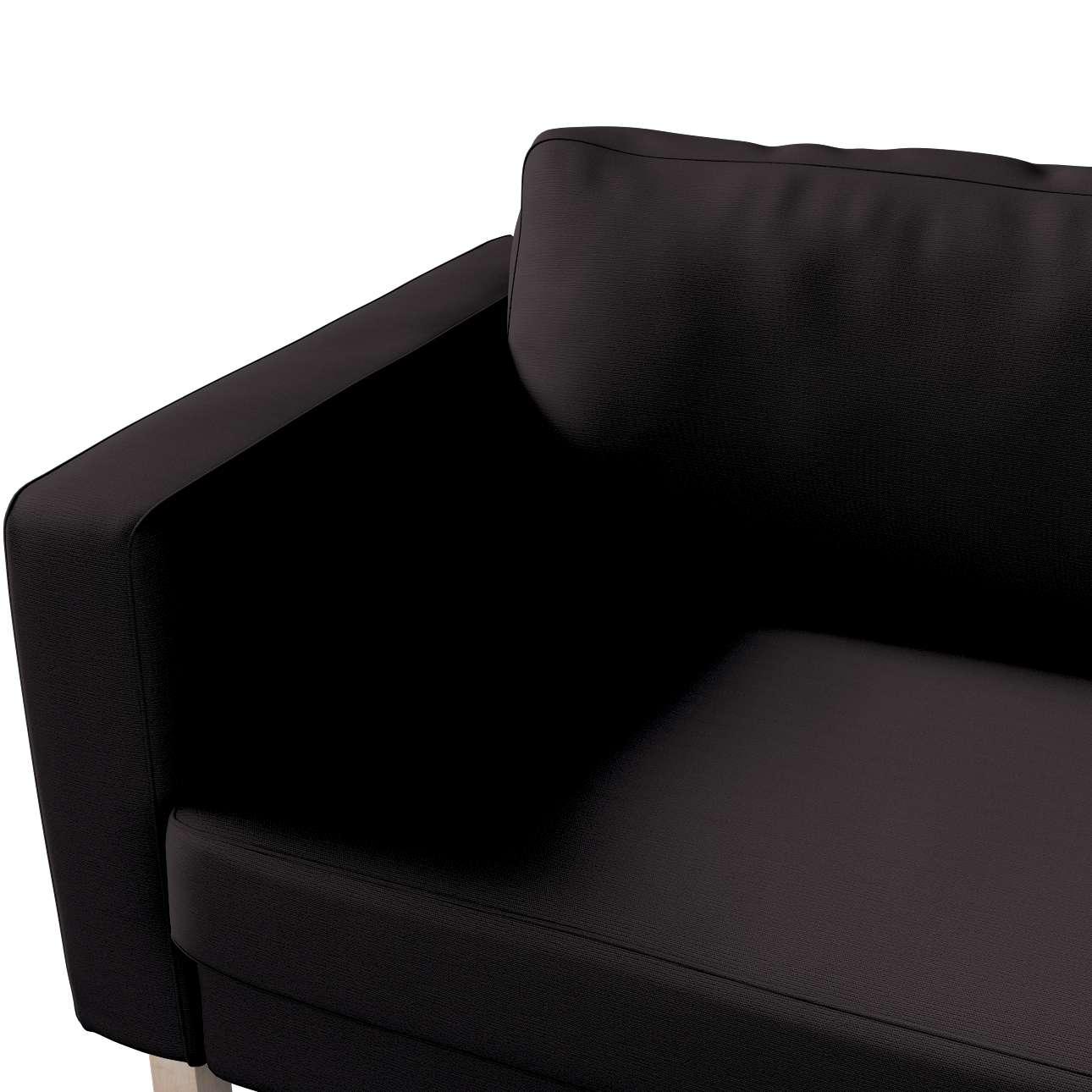 Karlstad klädsel<br>3-pers. soffa - kort - 204cm i kollektionen Panama Cotton, Tyg: 702-08