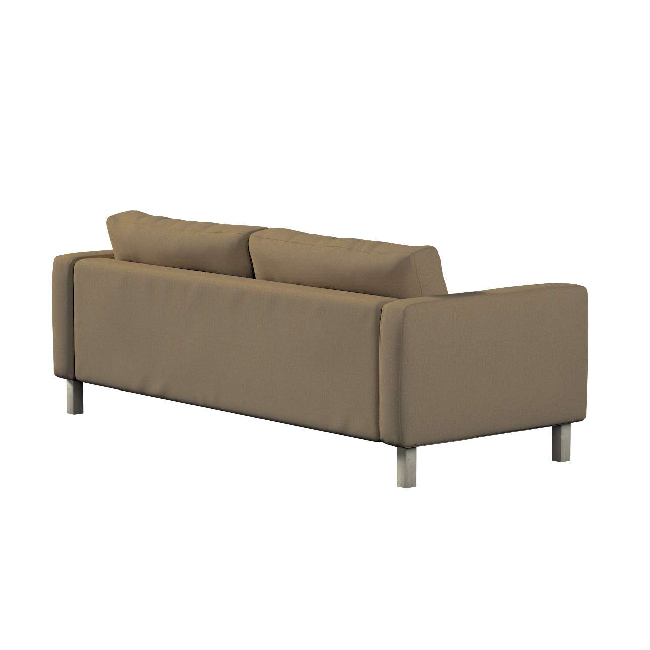 Pokrowiec na sofę Karlstad 3-osobową nierozkładaną, krótki w kolekcji Chenille, tkanina: 702-21