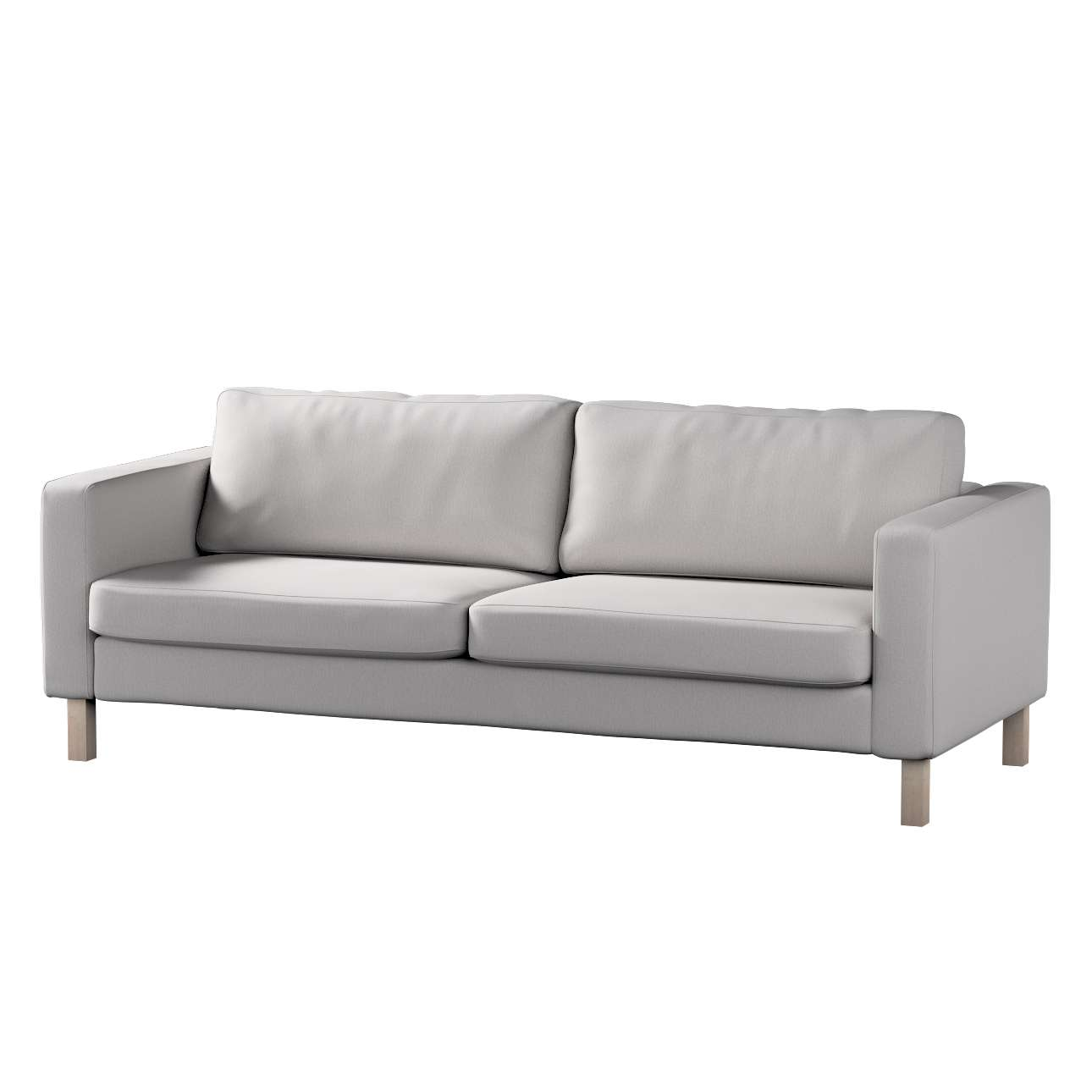 Hoes voor Karlstad 3-zitsbank van IKEA van de collectie Chenille, Stof: 702-23