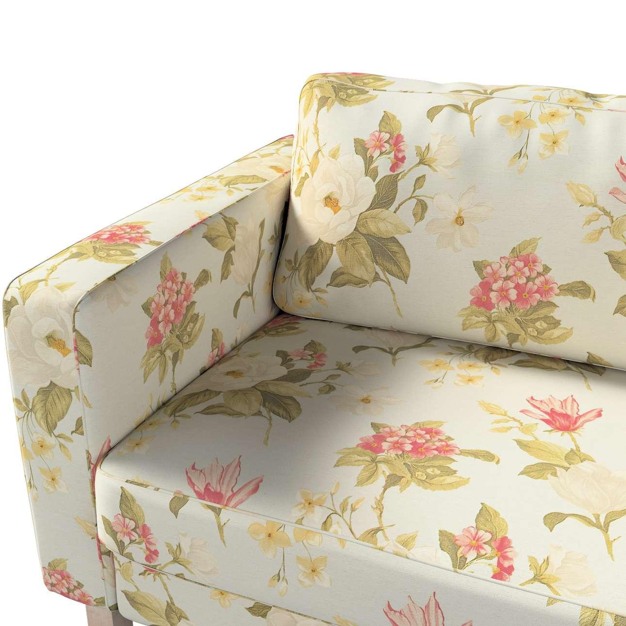Karlstad klädsel<br>3-pers. soffa - kort - 204cm i kollektionen Londres, Tyg: 123-65