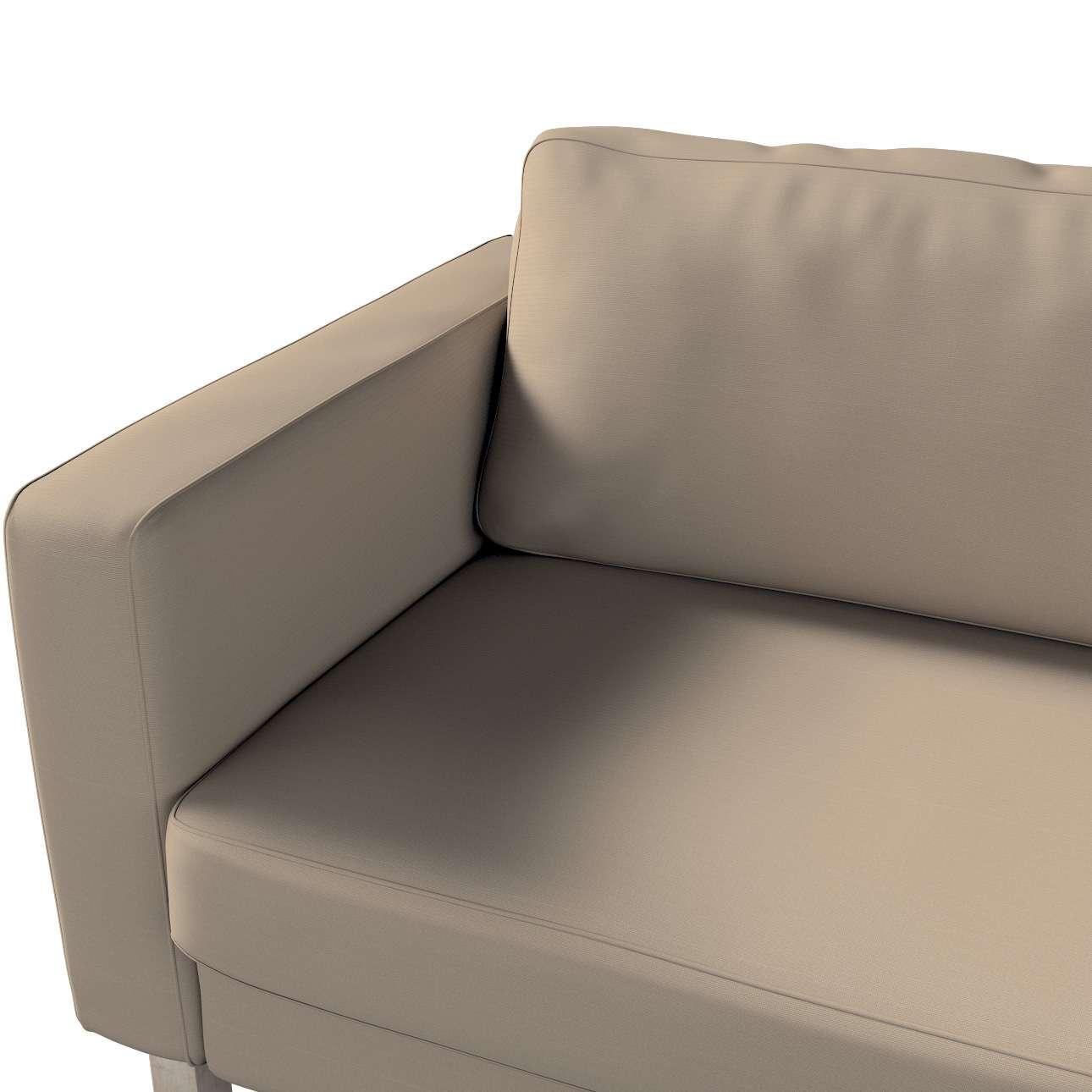 Hoes voor Karlstad 3-zitsbank van IKEA van de collectie Cotton Panama, Stof: 702-28