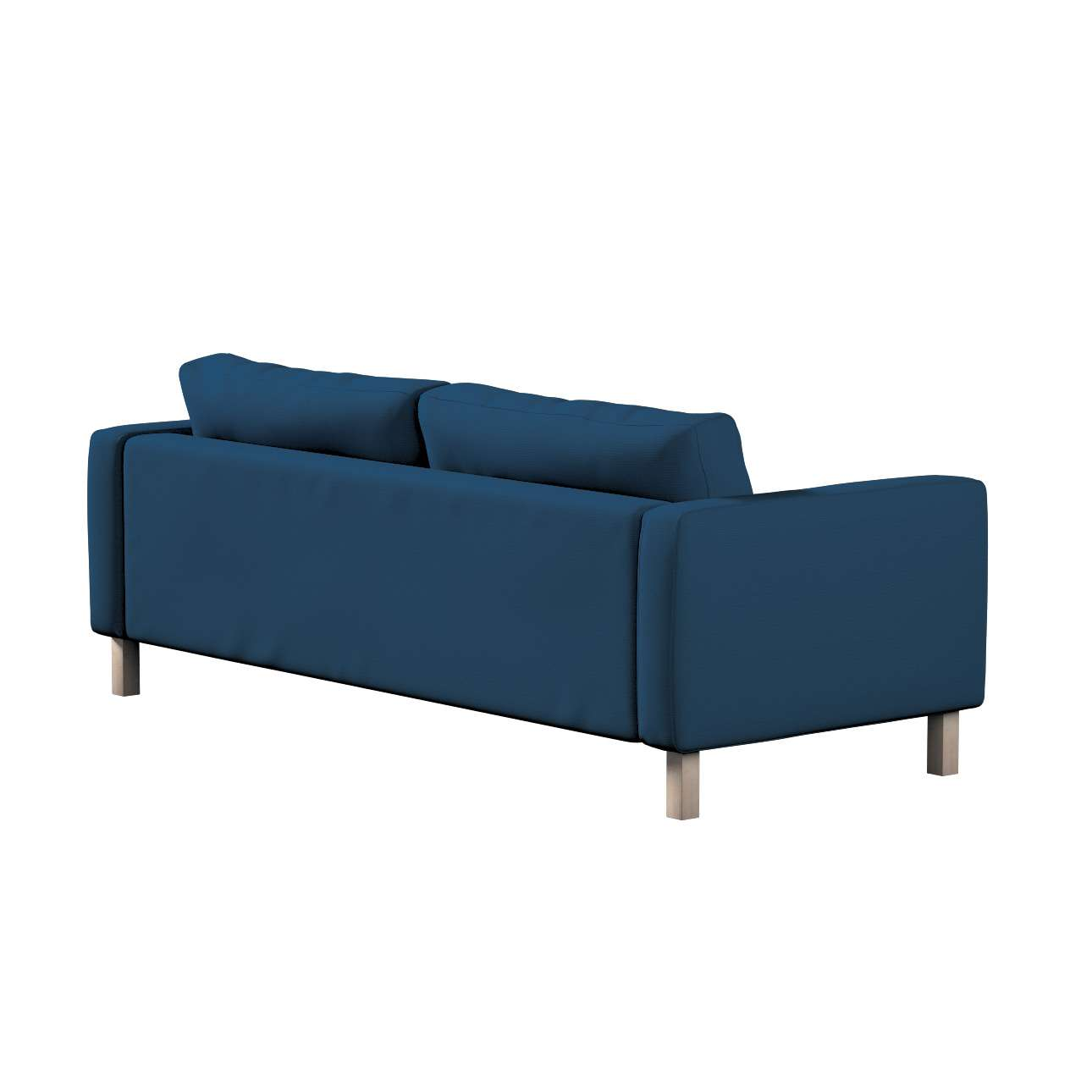 Karlstad klädsel<br>3-pers. soffa - kort - 204cm i kollektionen Panama Cotton, Tyg: 702-30