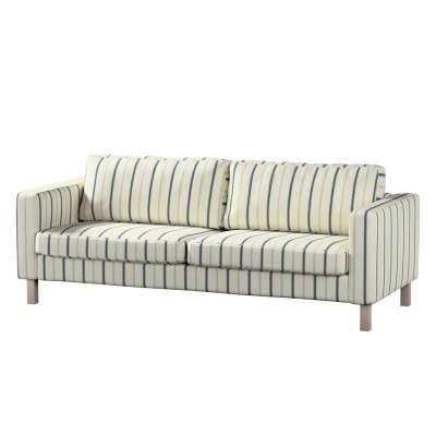 Karlstad 3-Sitzer Sofabezug nicht ausklappbar kurz von der Kollektion Avinon, Stoff: 129-66