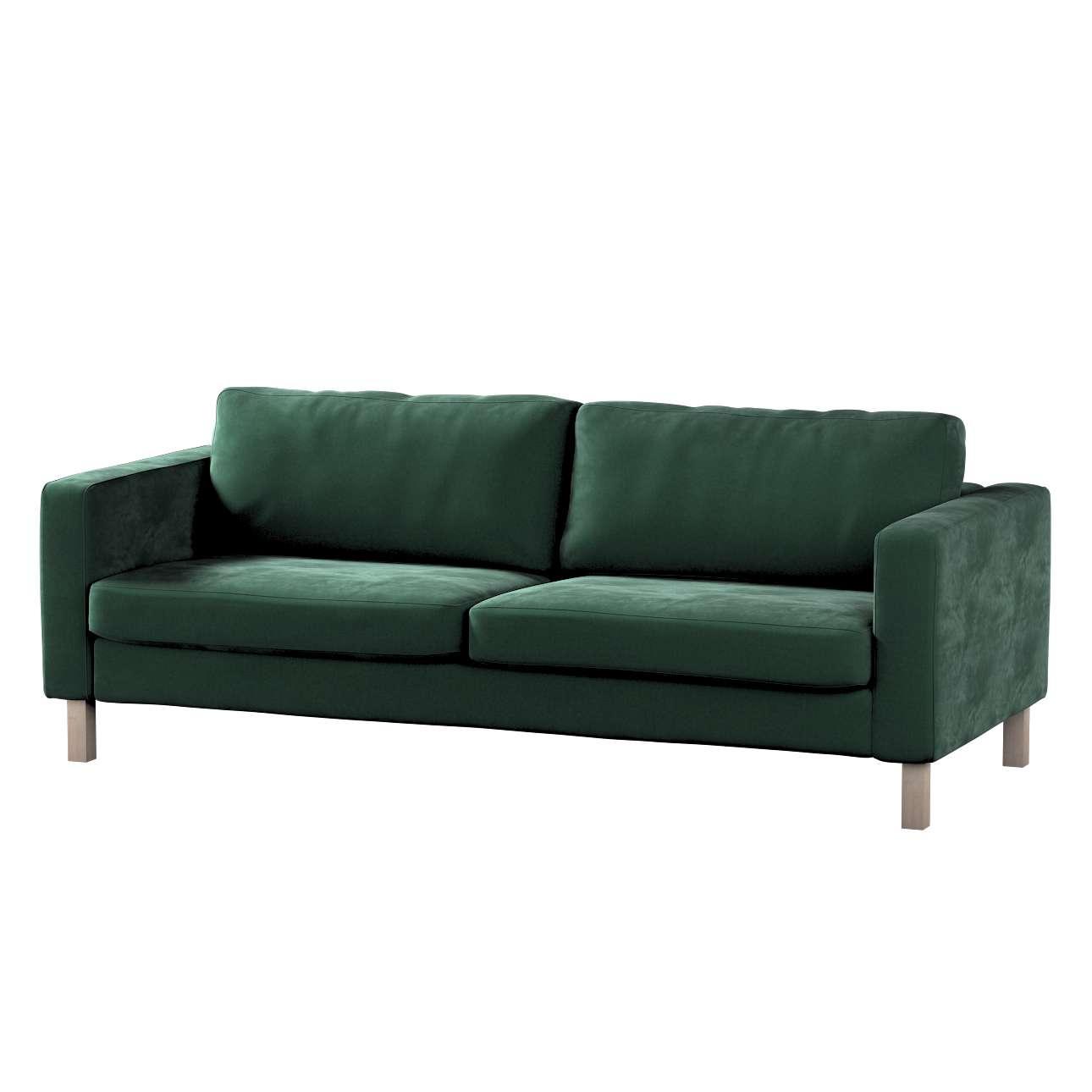 Karlstad klädsel<br>3-pers. soffa - kort - 204cm i kollektionen Velvet, Tyg: 704-25