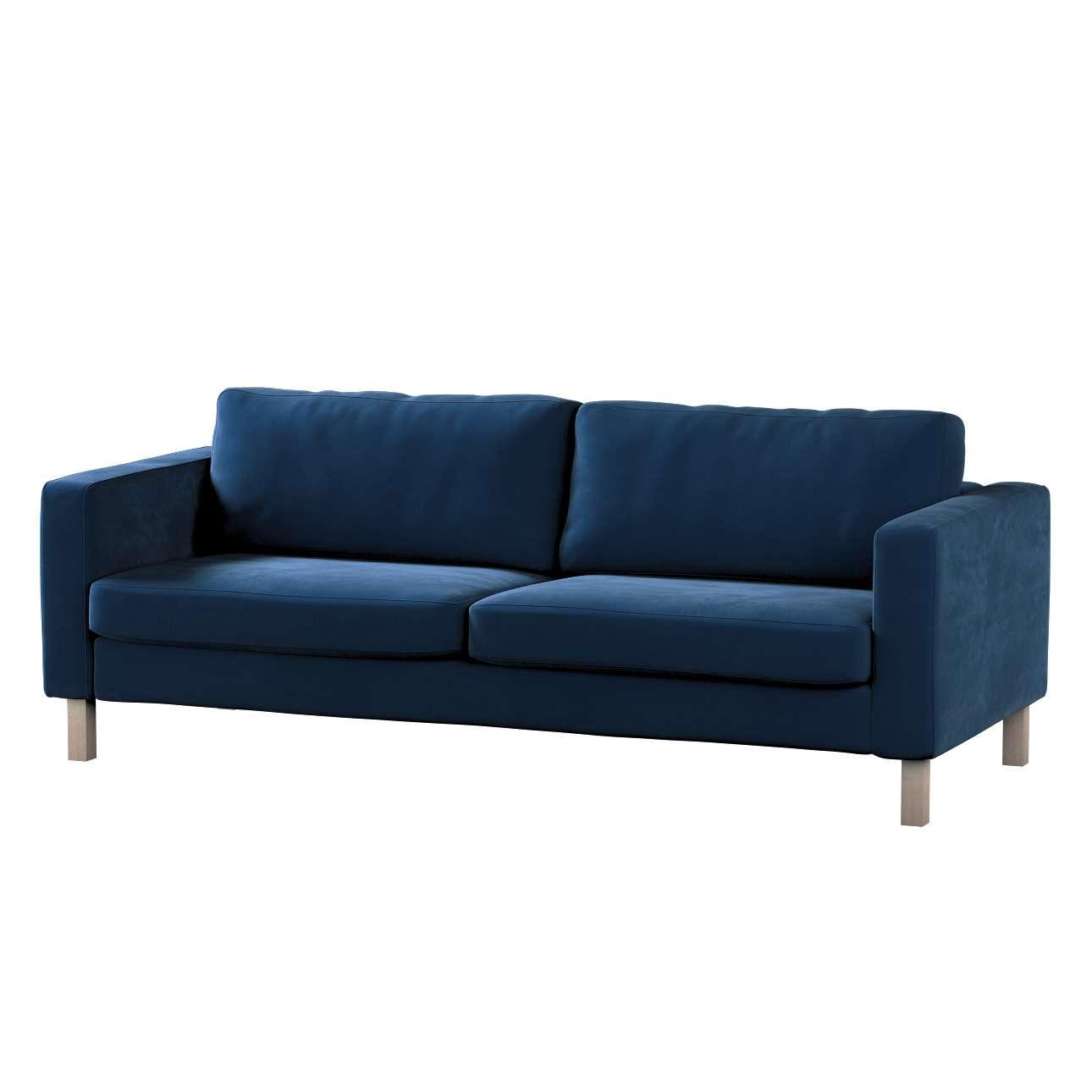Karlstad klädsel<br>3-pers. soffa - kort - 204cm i kollektionen Velvet, Tyg: 704-29