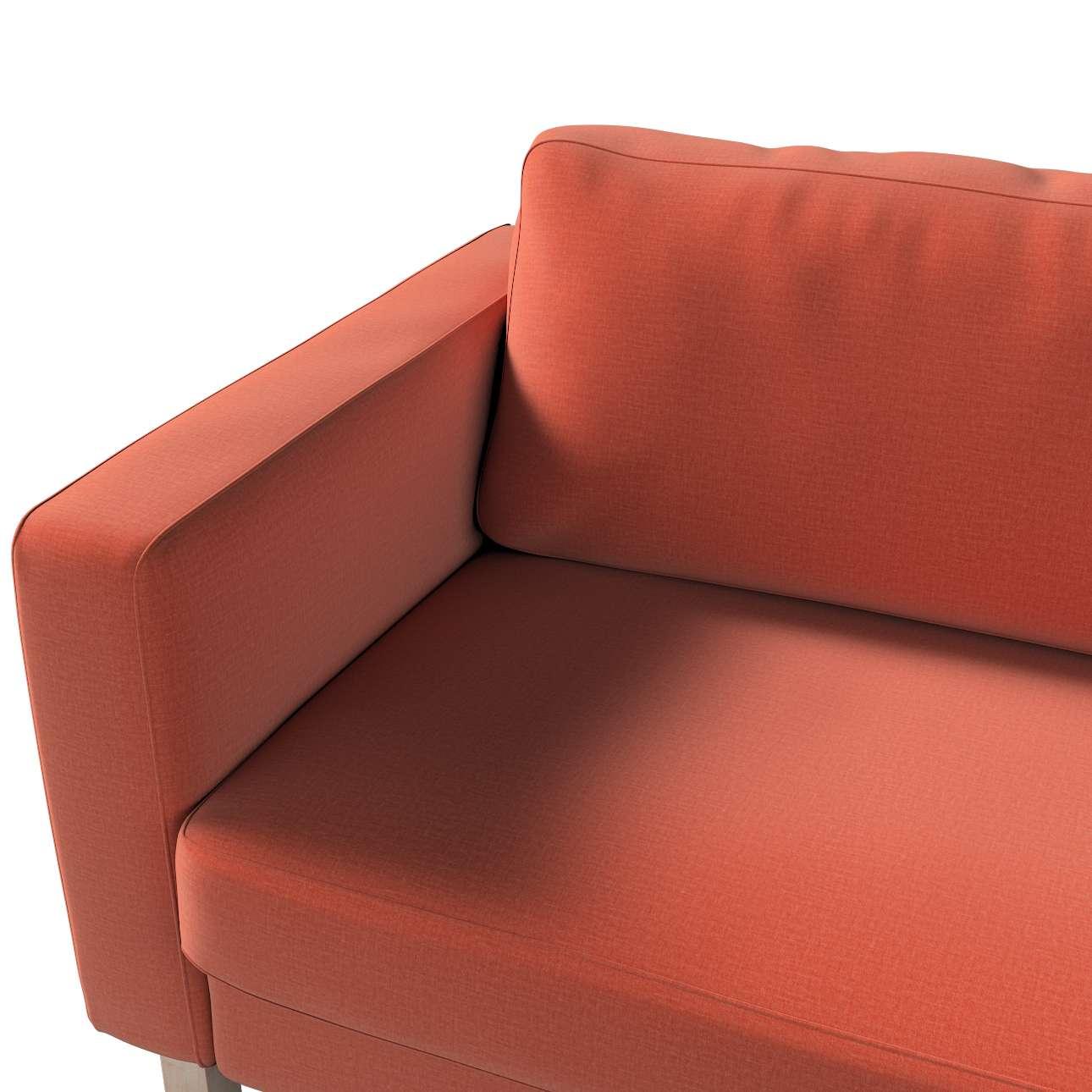 Karlstad klädsel<br>3-pers. soffa - kort - 204cm i kollektionen Ingrid, Tyg: 705-37