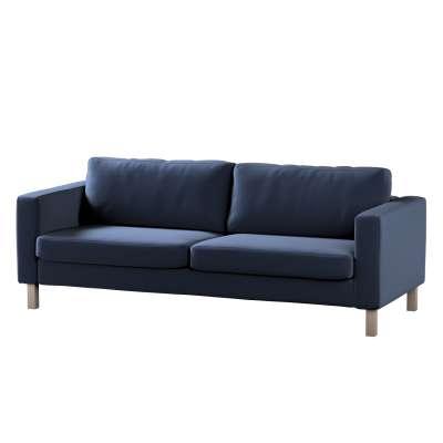 Pokrowiec na sofę Karlstad 3-osobową nierozkładaną, krótki w kolekcji Ingrid, tkanina: 705-39