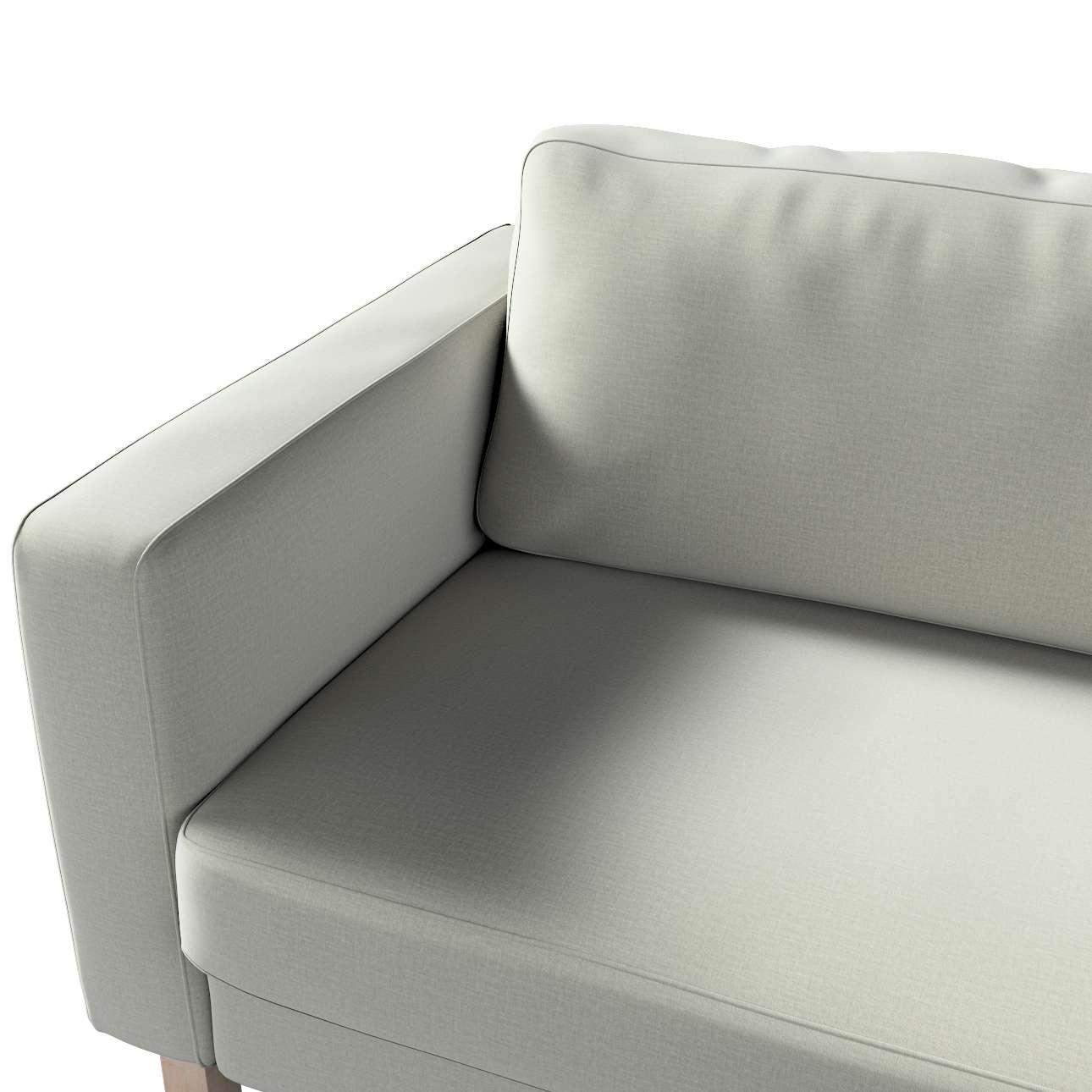 Pokrowiec na sofę Karlstad 3-osobową nierozkładaną, krótki w kolekcji Ingrid, tkanina: 705-41