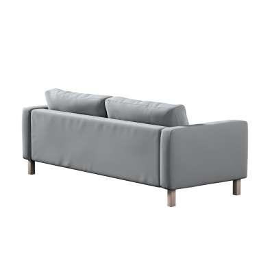 Pokrowiec na sofę Karlstad 3-osobową nierozkładaną, krótki w kolekcji Ingrid, tkanina: 705-42