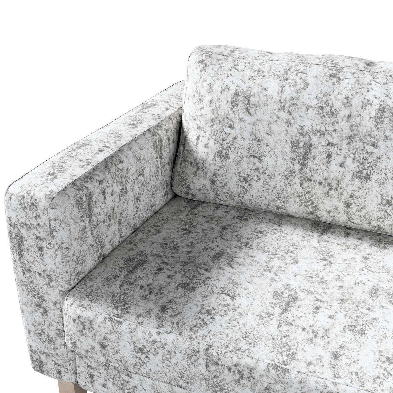 Karlstad 3-Sitzer Sofabezug nicht ausklappbar kurz von der Kollektion Velvet, Stoff: 704-49
