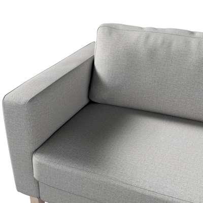 Pokrowiec na sofę Karlstad 3-osobową nierozkładaną, krótki w kolekcji Living, tkanina: 160-89
