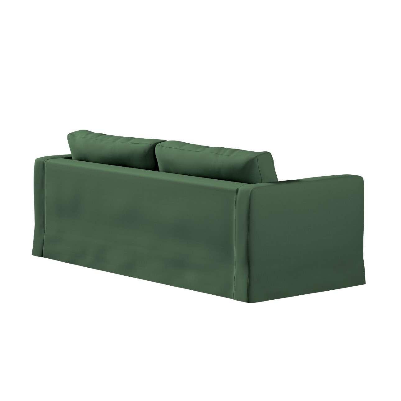 Karlstad klädsel 3-pers. soffa -  lång - 204cm i kollektionen Panama Cotton, Tyg: 702-06