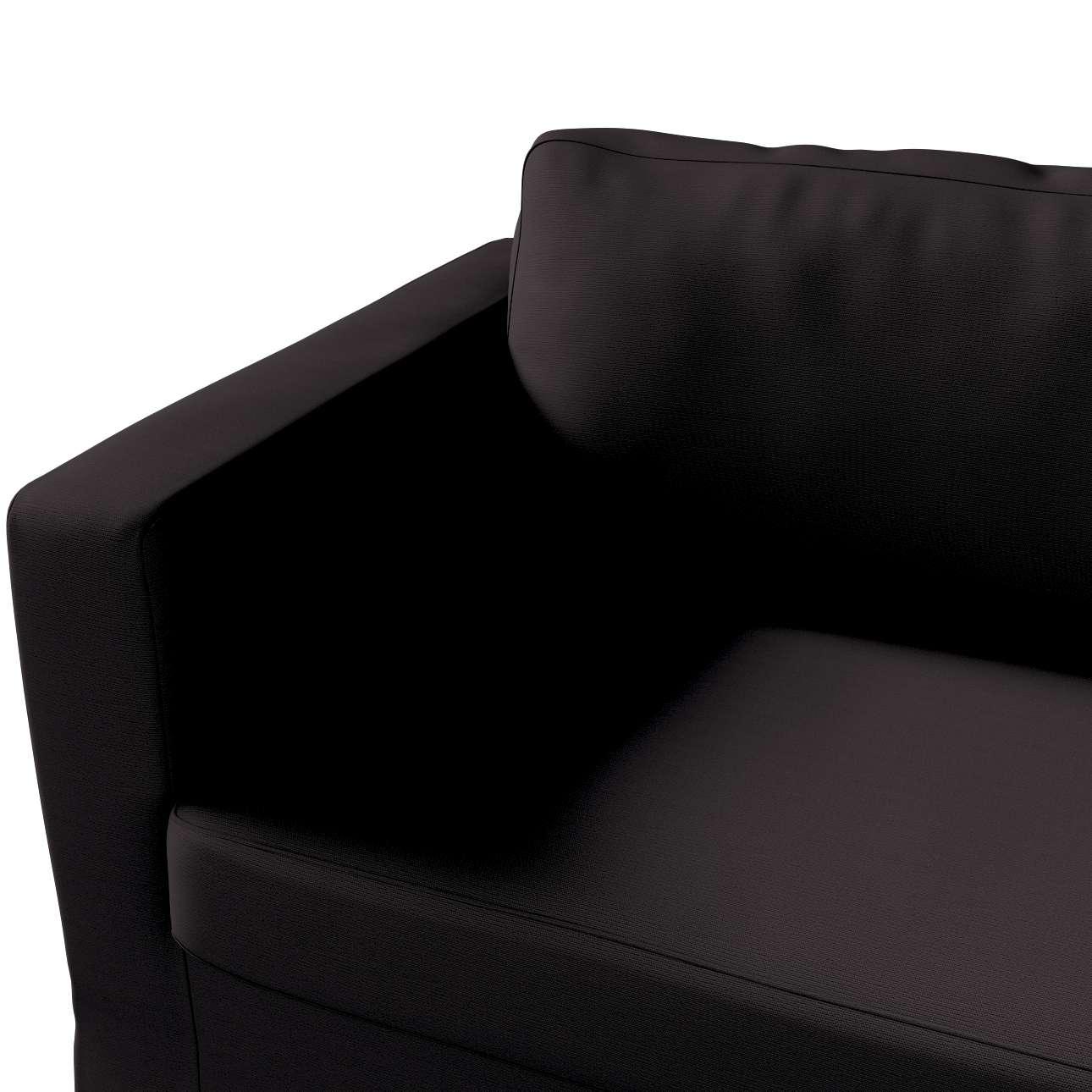 Karlstad klädsel 3-pers. soffa -  lång - 204cm i kollektionen Panama Cotton, Tyg: 702-08
