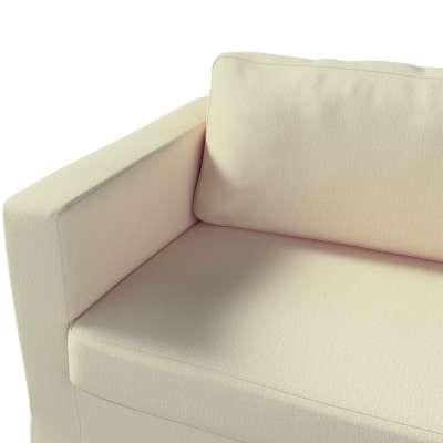 Karlstad klädsel 3-pers. soffa -  lång - 204cm i kollektionen Chenille, Tyg: 702-22