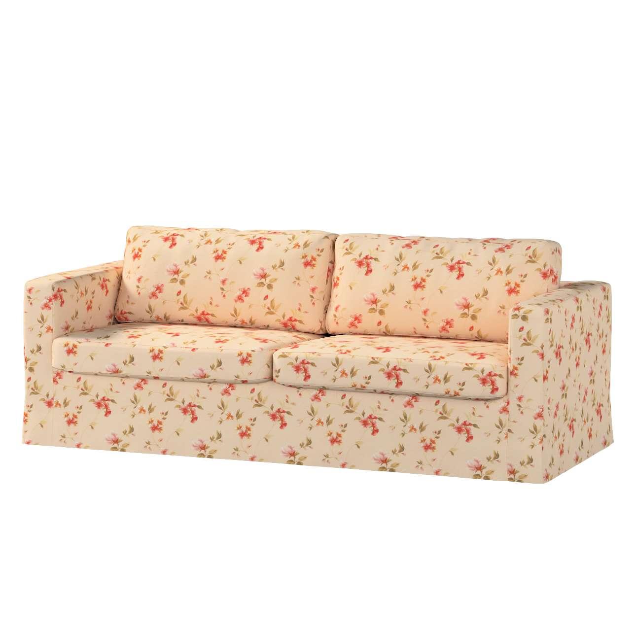 Karlstad klädsel 3-pers. soffa -  lång - 204cm i kollektionen Londres, Tyg: 124-05